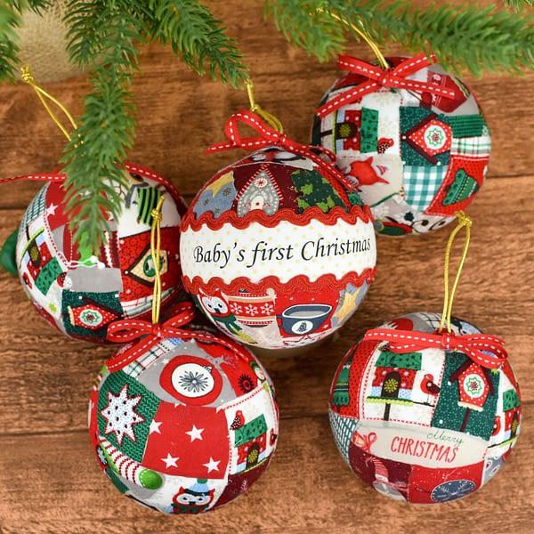 μπάλα baby's first Christmas