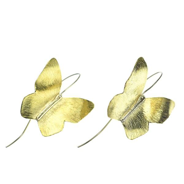 κρεμαστά σκουλαρίκια πεταλούδες