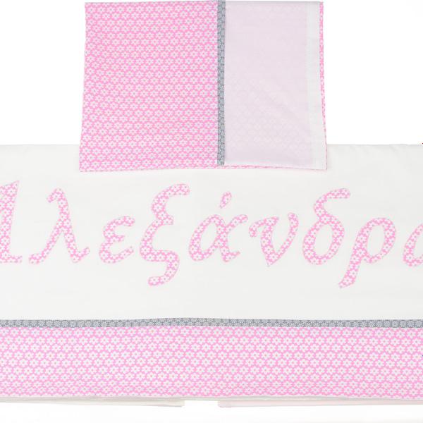 γκρι ροζ σεντόνια